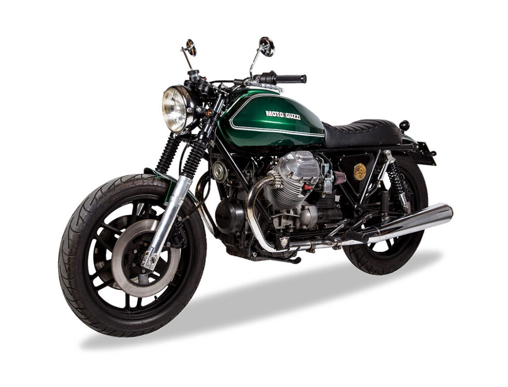 #039 Elegante Moto guzzi 850 t4